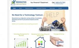 Remington-website