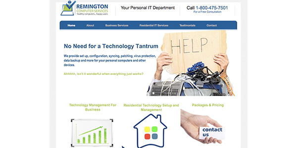 Remington-website